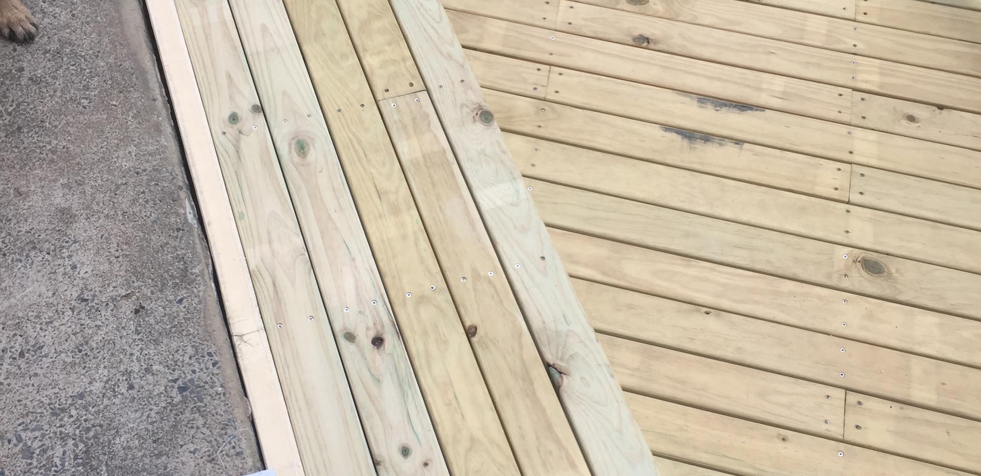 Walkway Deck
