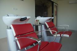 헤어 샴푸용 의자
