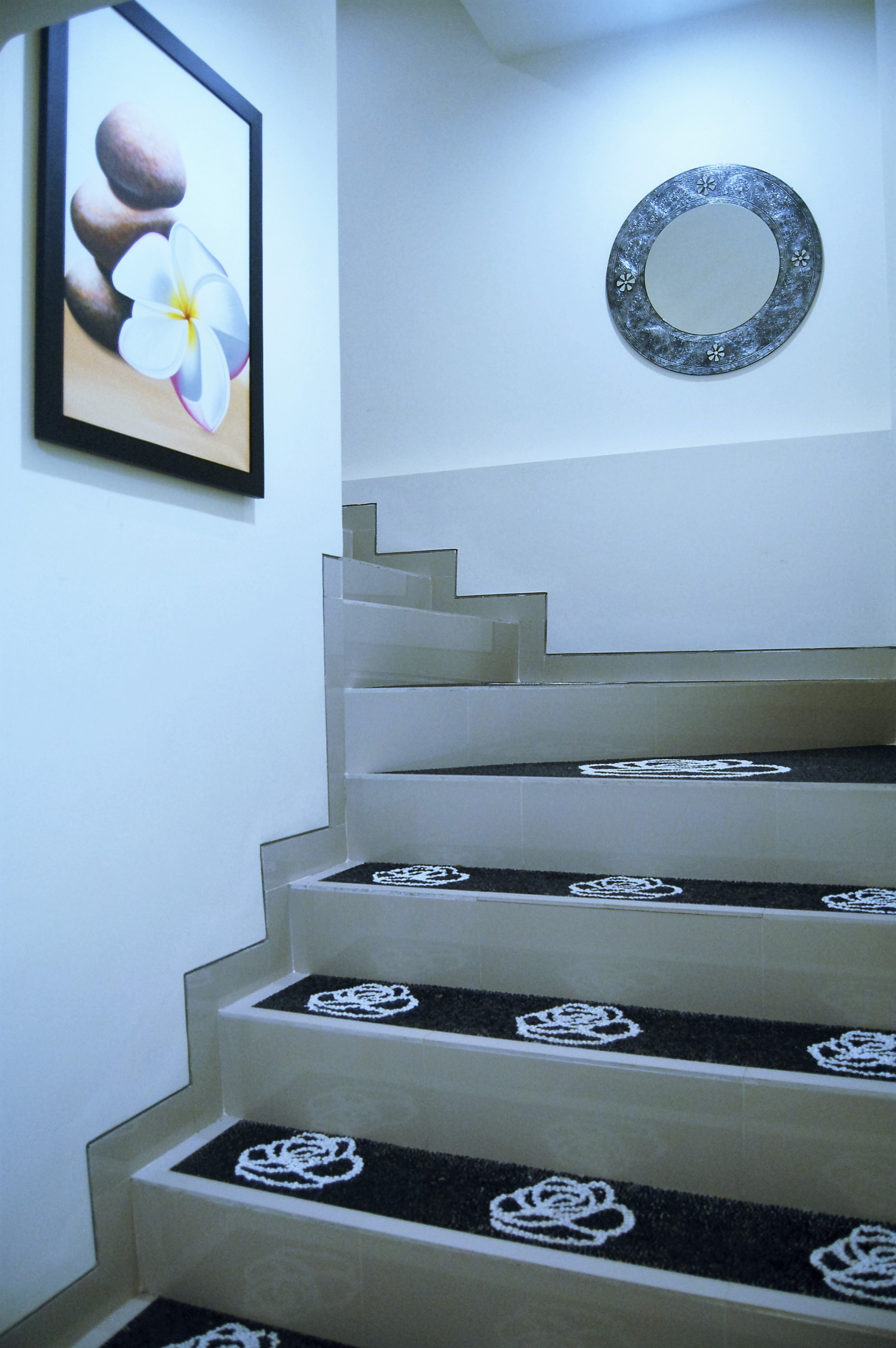 Stairway to 2nd floor