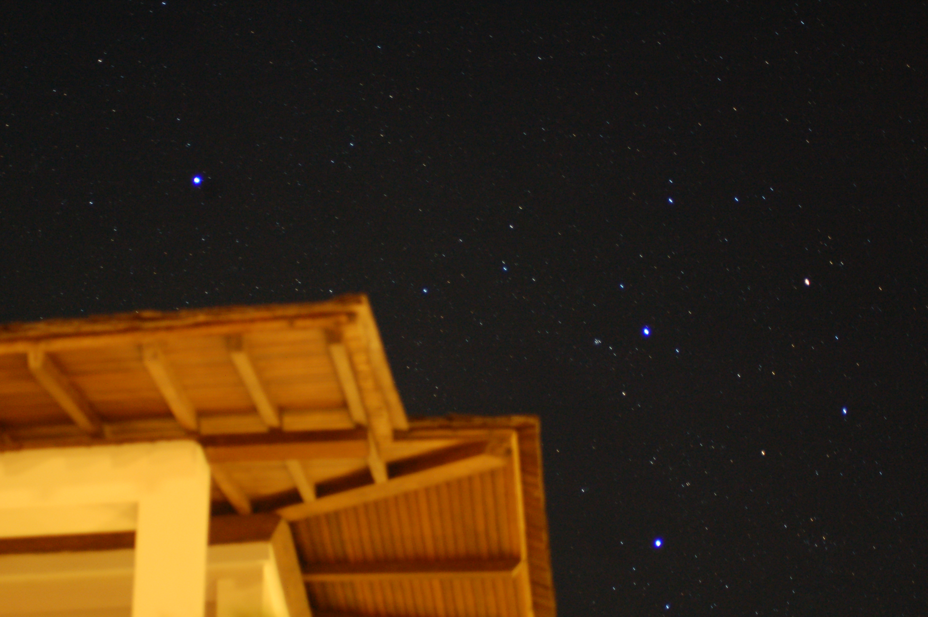 Stars in Bali Sky