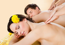 couple having body massage at The Luxury Day Spa RoseHill in Bali