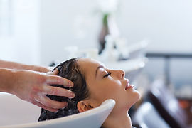 Hair shampoo service after hair cream bath at the Luxury Day Spa RoseHill