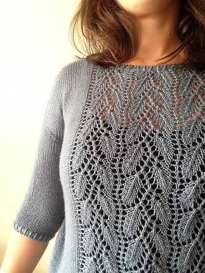 gothenburg sweater lace close-up