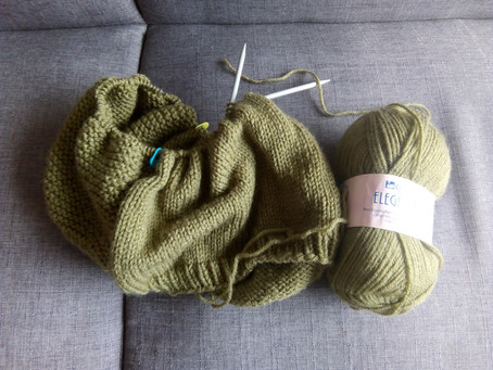 Cachecol Oats - Tin Can Knits