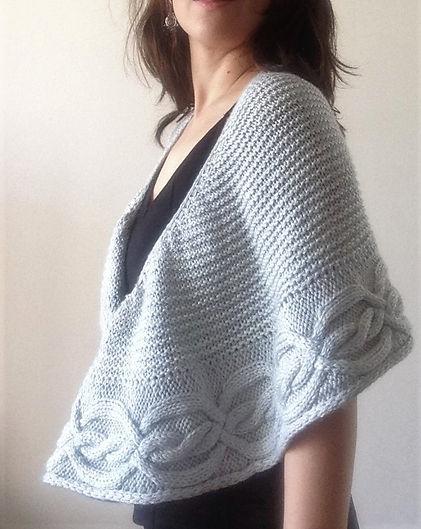 saudades shawl