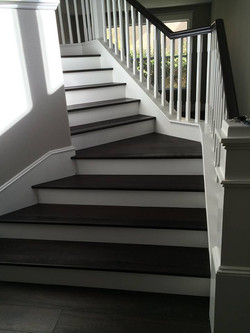 Hardwood Installation - Stairs