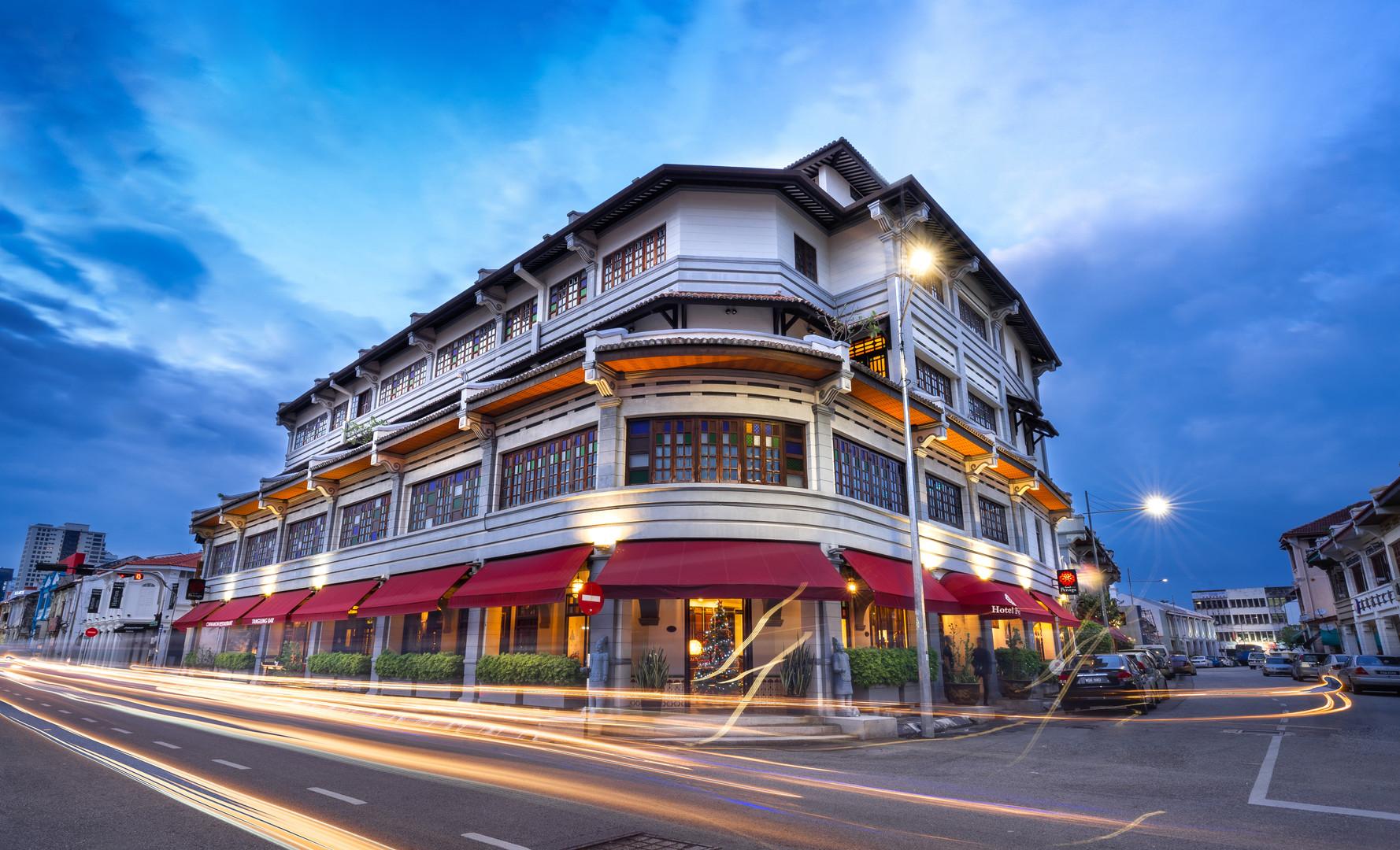 Hotel Penaga - Facade (Night View)