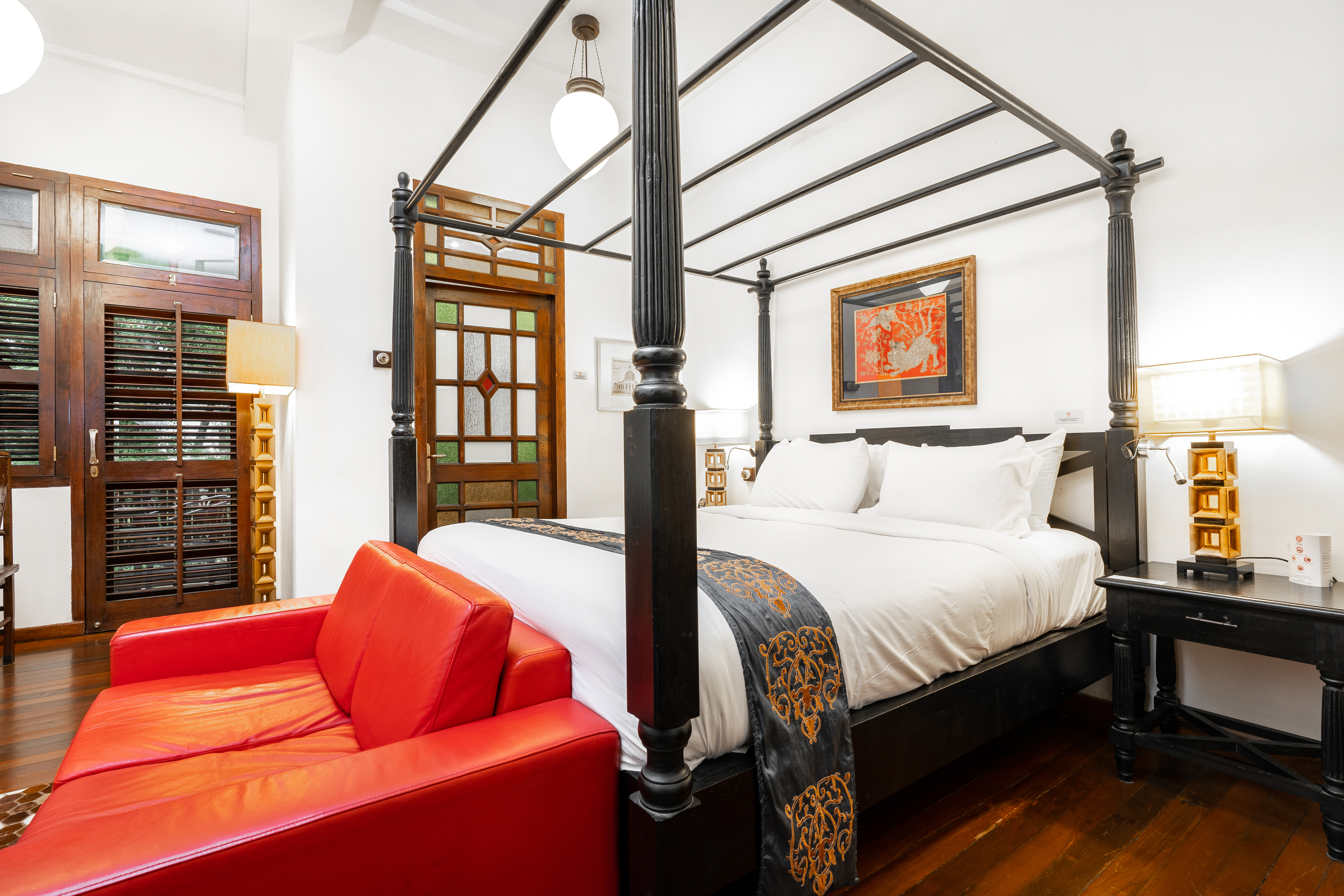 Hutton Deluxe Room with Balcony - Garden