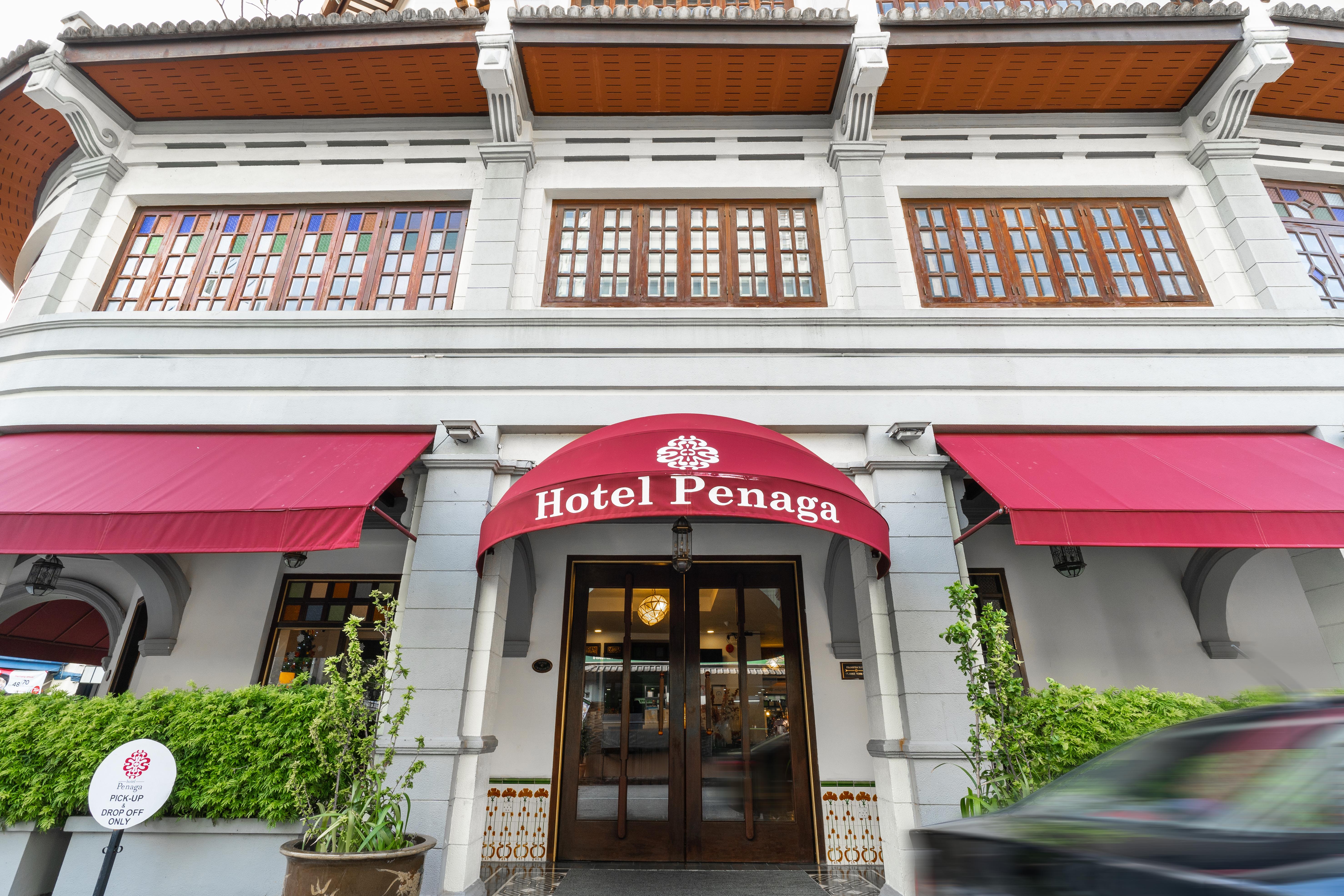 Hotel Penaga - Entrance