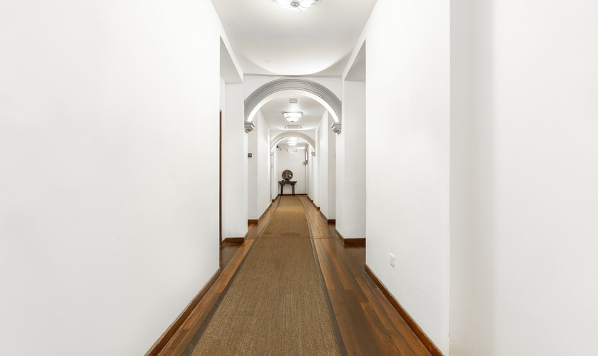 Corridor of Hutton Building