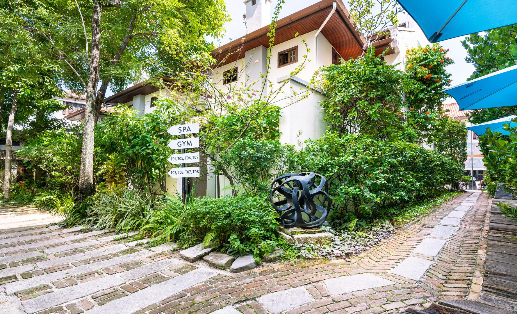 Hotel Penaga - Garden Area (2)