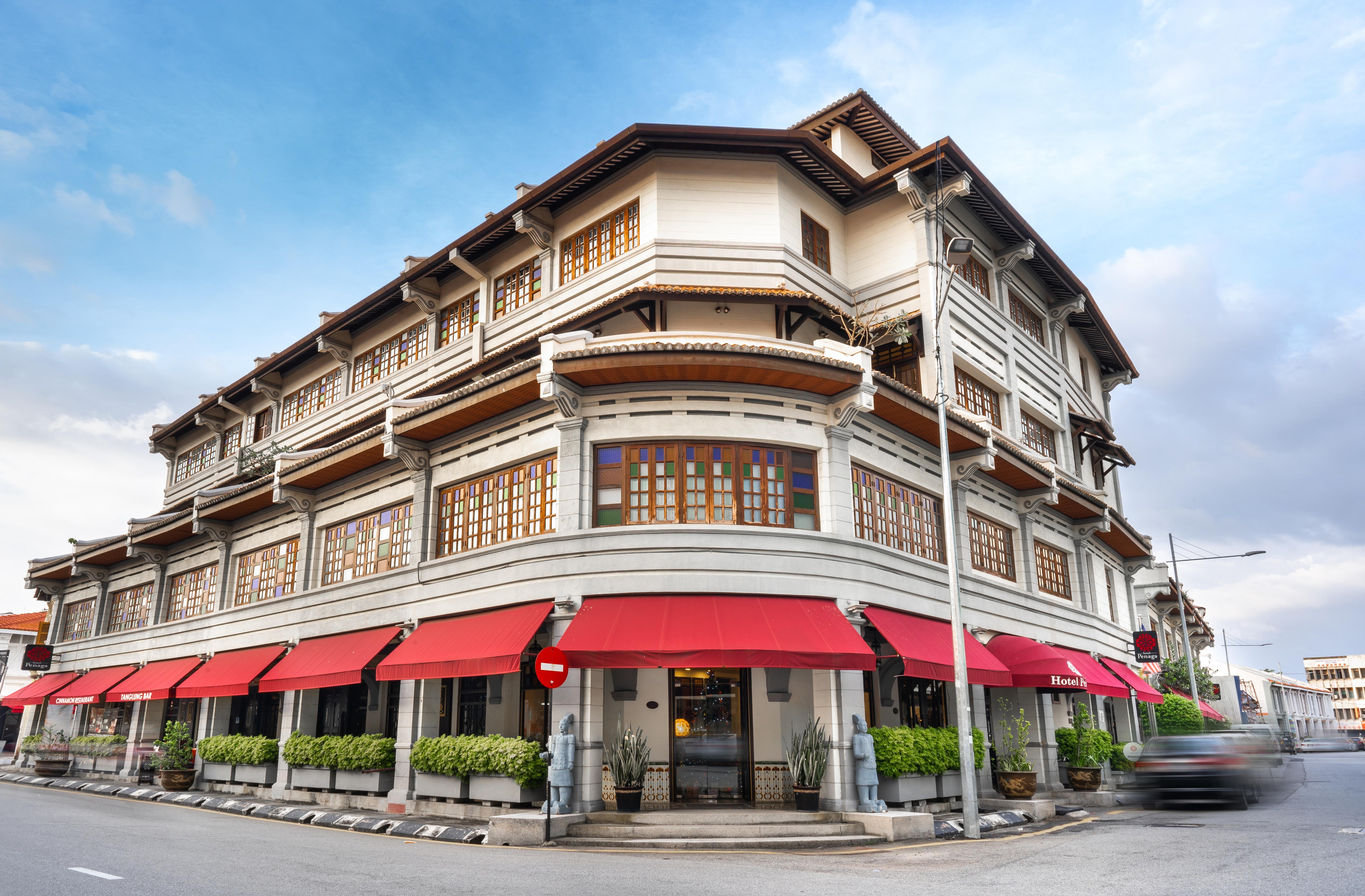 Hotel Penaga - Facade - Day View (1)