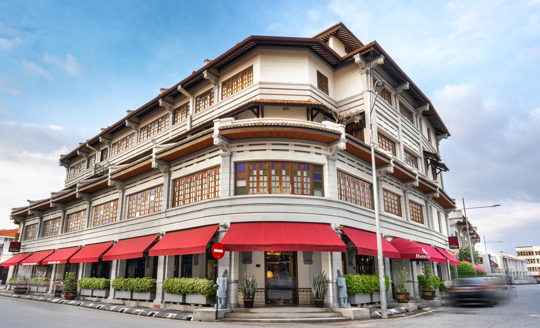 Hotel Penaga - Facade (Day View)