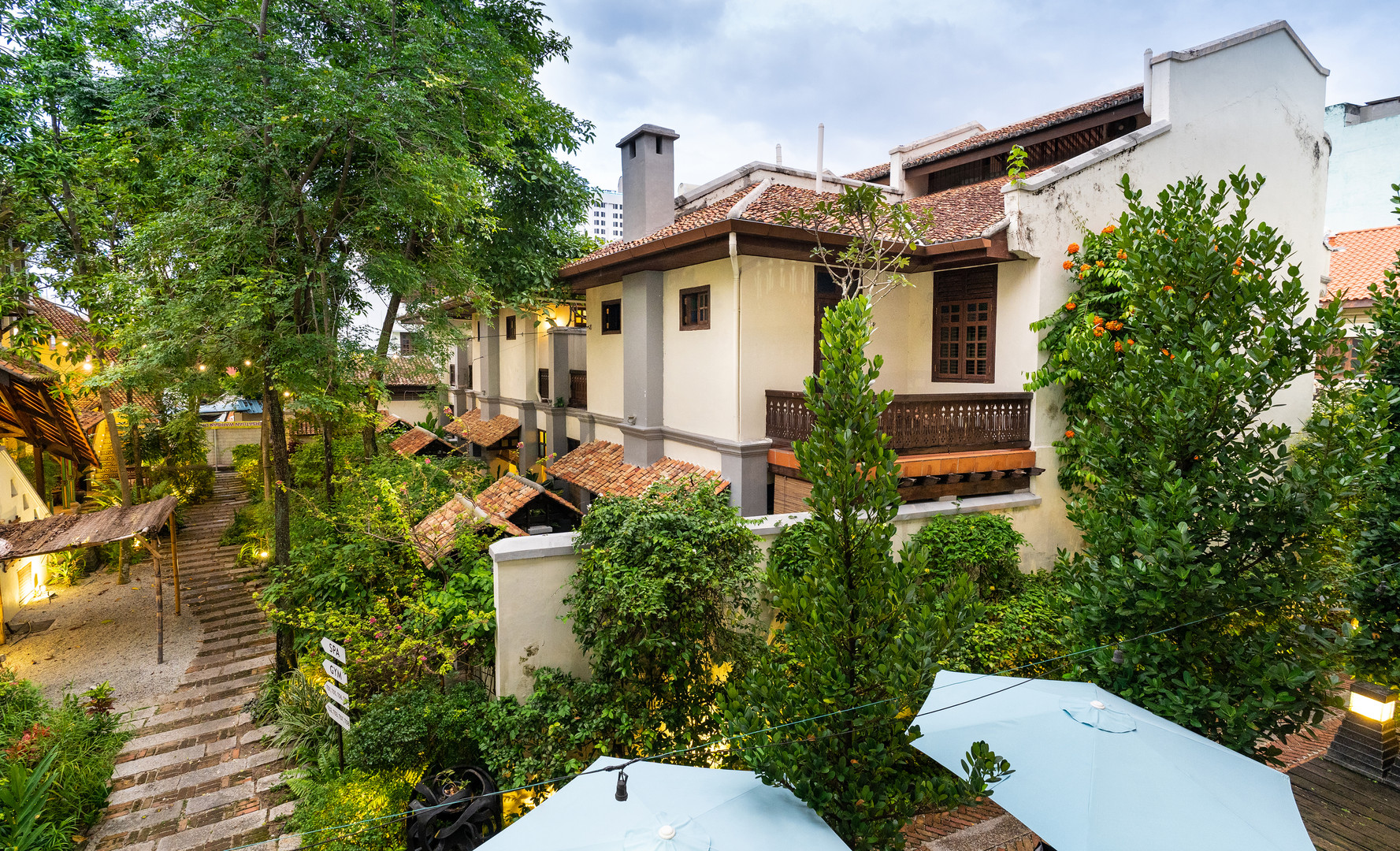 Hotel Penaga - Garden Area (1)