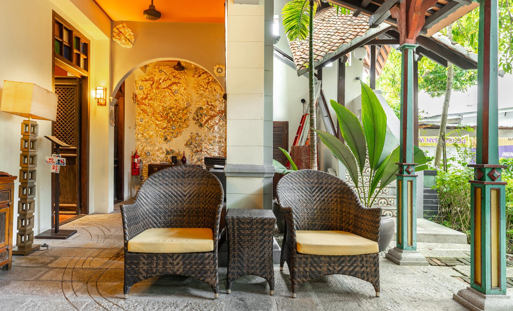 Hotel Penaga - Penaga Spa Waiting Area