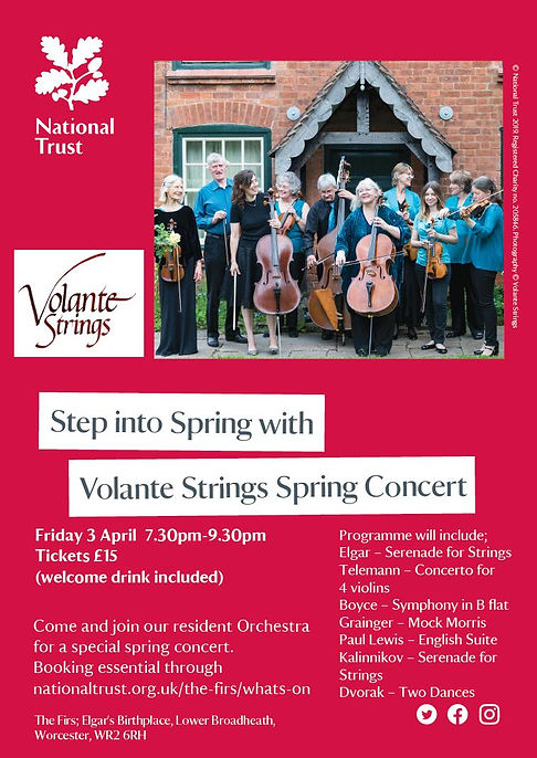 Step into Spring - The Firs 03April2020.