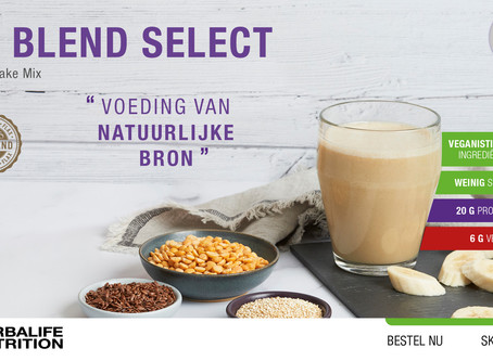 Nieuw product: Tri Blend Select