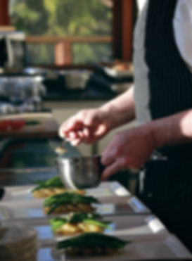 Chef Tim May Cooks for Company