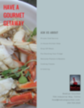 Tofino Gourmet Getaway Offerings