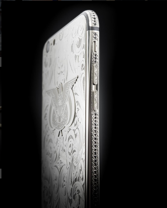 iPhone 7 Platinum Engraved