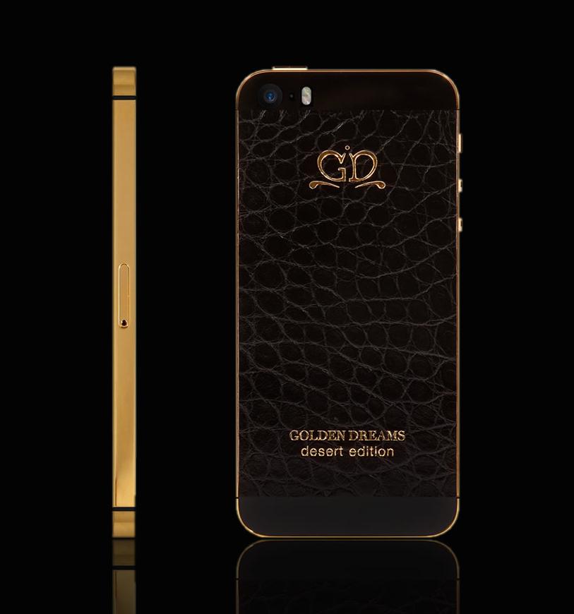 iPhone 5S Gold Black