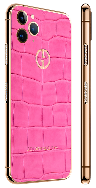 11 Pro Gold Diamond Exotique Pink