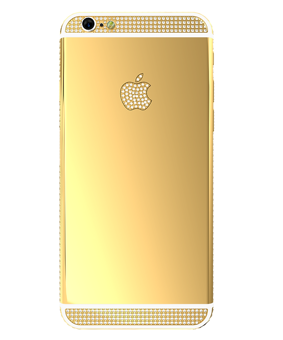 6S Gold 24k Swarovski 128gb
