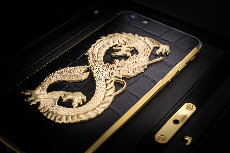 iPhone_7_Gold_Dragon_Black_24k