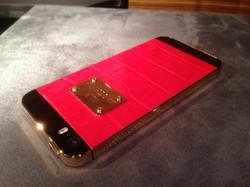 iPhone 5S Gold Red эксклюзивный