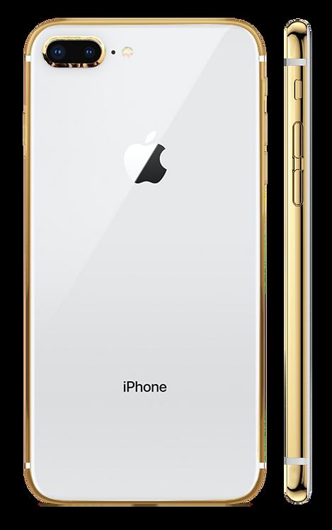 iPhone 8 Plus Gold 24k Белый