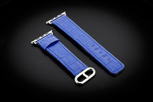 Ремешок Apple Watch Blue Alligator