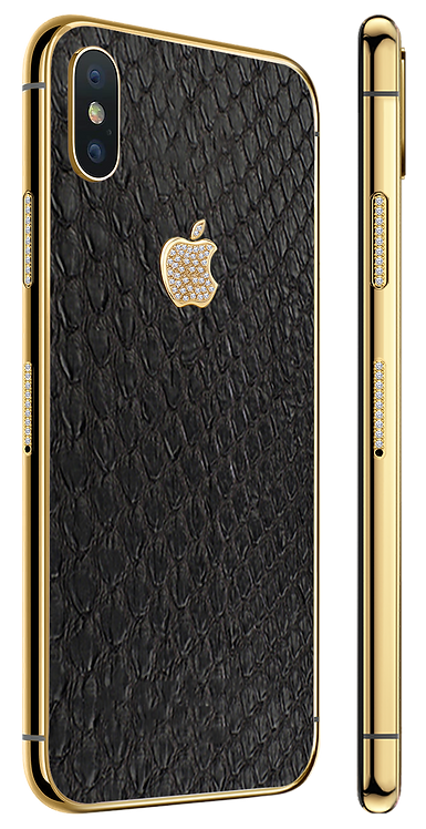 XS Gold Diamond Exotique Blk Python