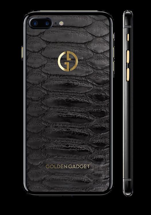 iPhone 7+ оникс, black python