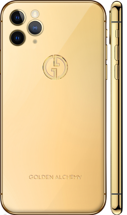 iPhone 11 Pro Gold 24k