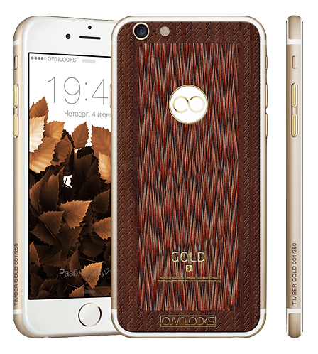 iPhone 6S Timber Gold