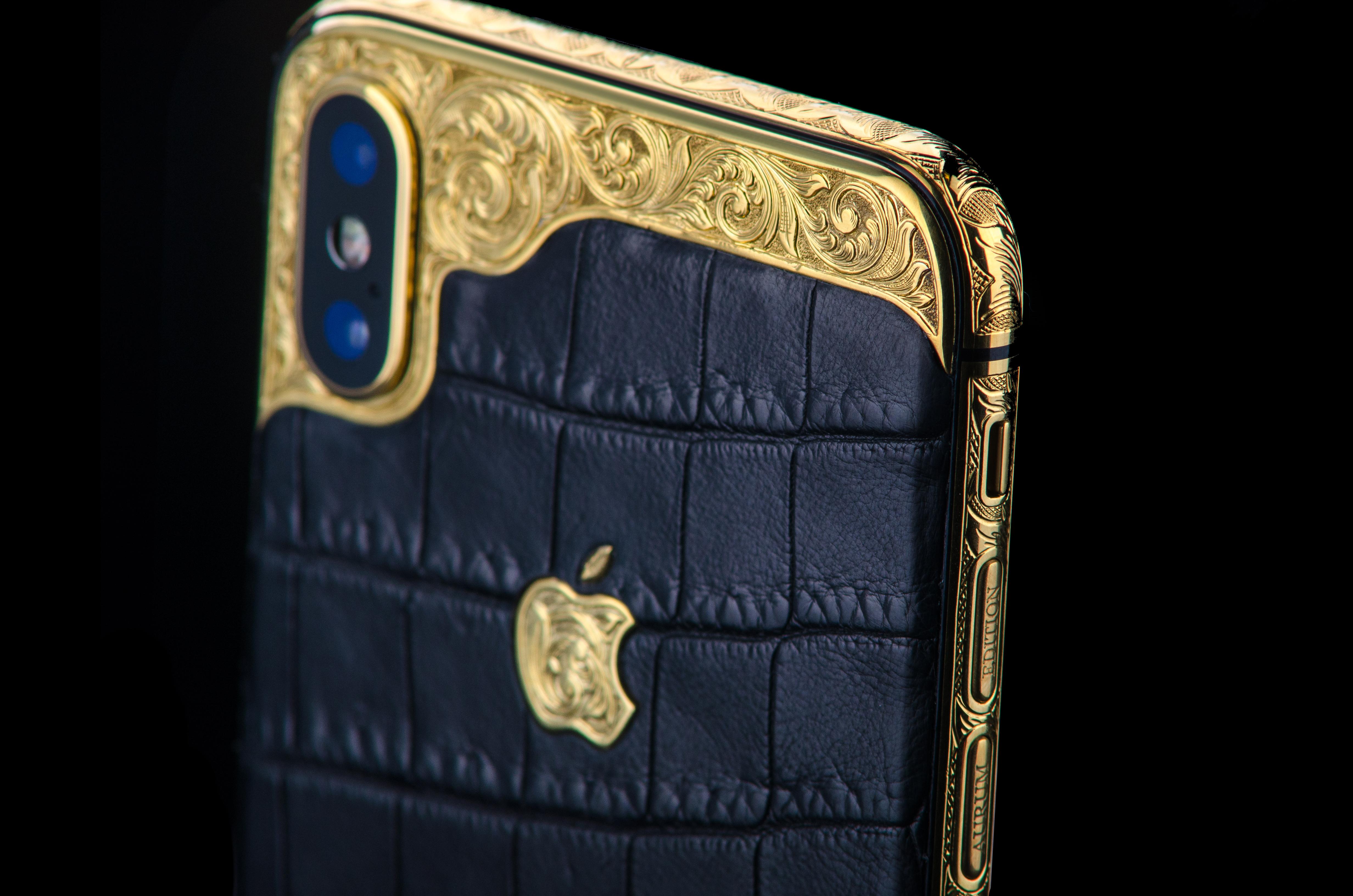 iPhone X Gold 24k - side.jpg
