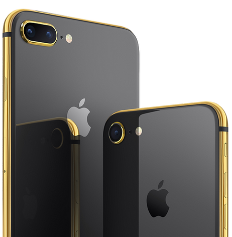 iPhone 8 gold 24k edition