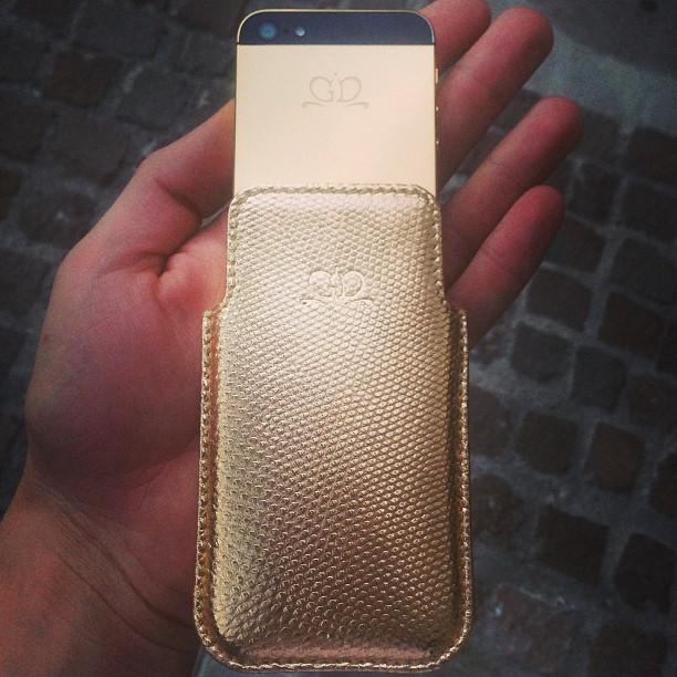 iPhone 5 Gold чехол