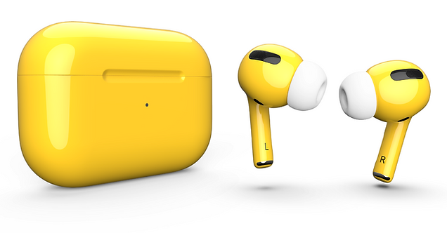 AirPods Pro yellow желтые