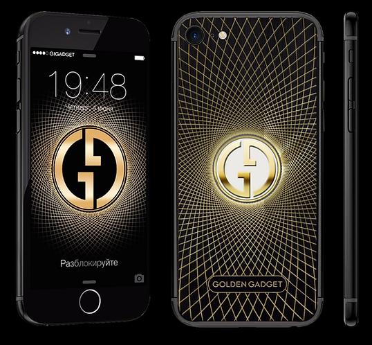 Golden Gadget - Black - iPhone 7