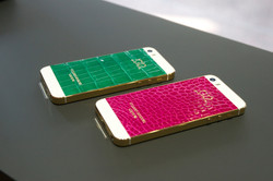 iPhone 5S Gold Green Pink эксклюзивн
