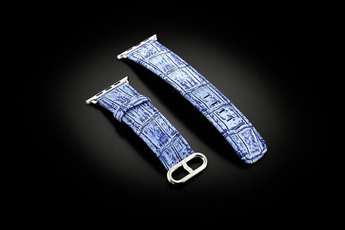 Ремешок Apple Watch Jeans Alligator