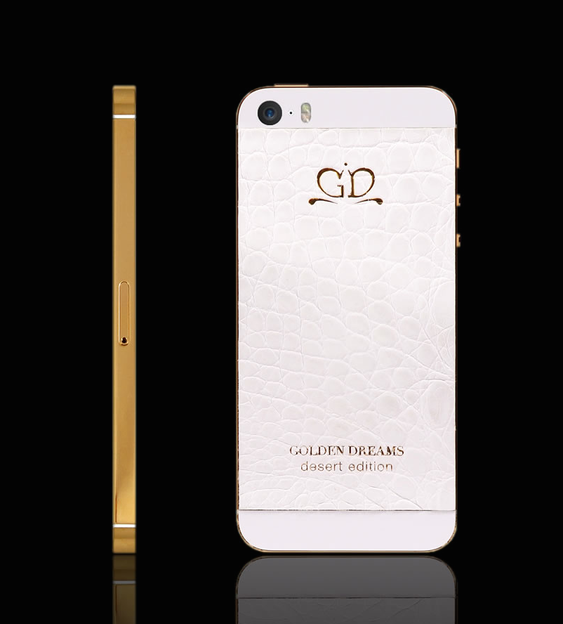 iPhone 5S Gold White