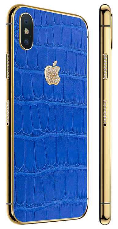 X Gold Diamond Exotique Blue