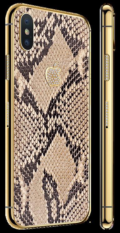 XS Gold Diamond Exotique Python