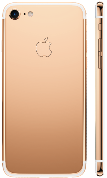 iPhone 7 Rose Gold 18k