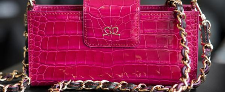 Кожаная сумочка Leela Hand-Bag из аллигатора