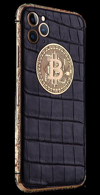 iPhone 11 Pro Golden Bitcoin