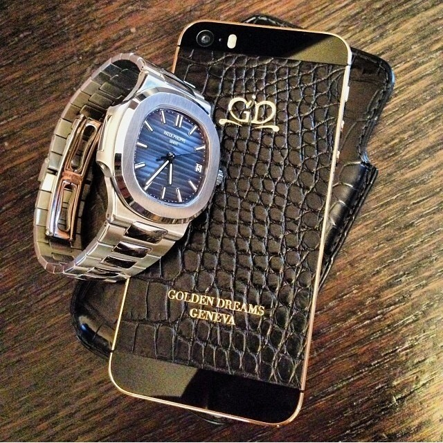 iPhone 5S Patek Watch эксклюзивный