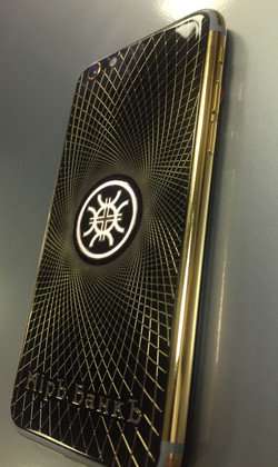 iPhone 6S gold 24k MirBank